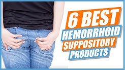 6 Best Hemorrhoid Suppository Products
