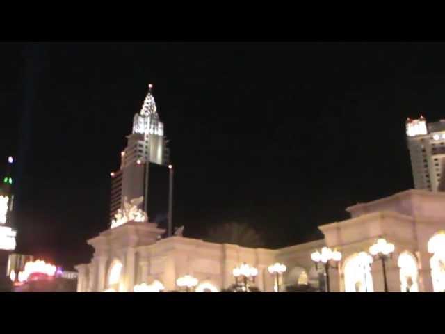 Las Vegas Luxushotel Hotel Monte Carlo Resort Casino Nevada Urlaub Video Film Heiraten in Las Vegas