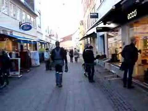 Busy morning in Helsingor (Denmark)
