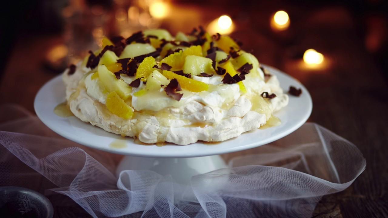 Fruchtige Pavlova Das Dessert Aus Down Under Mit Dem Thermomix