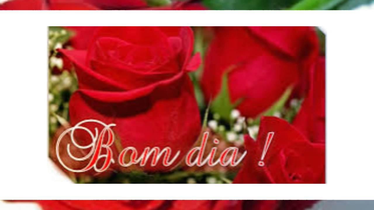 LINDO VIDEO DE BOM DIA-com Rosas