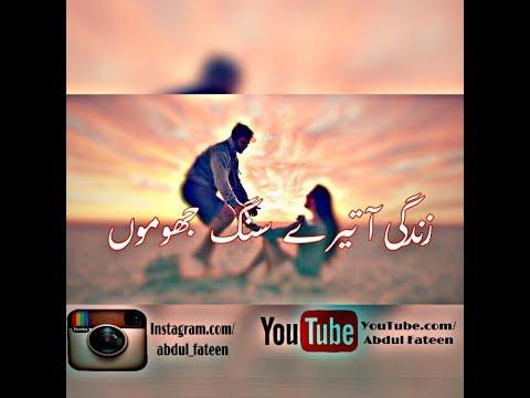 Very Emotional short Song| | Zindagi Aa Tere Sang Jhoomun | |PTV Drama Cousins Title song