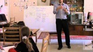 Урок информатики. 1 осенняя смена 2012 года в Берминводах