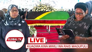 🔴#LIVE: KUAGWA Kwa MAGUFULI, RAIS SAMIA SULUHU AONGOZA MAELFU KUTOA HESHIMA ZA MWISHO..