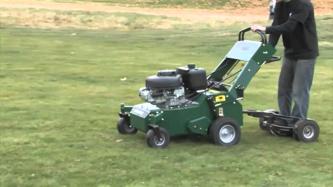 Lawn Solutions 24 Quot Dual Hydro Aerator Youtube