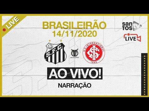 🔴 AO VIVO: SANTOS 2 x 0 INTERNACIONAL | BRASILEIRÃO (14/11/20)