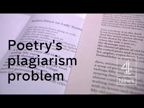 Plagiarism in poetry: the man tracking down the cheats