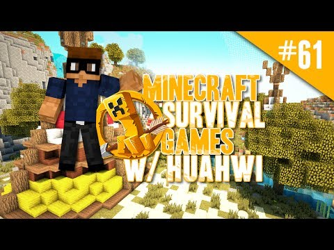Minecraft Survival Games w/ Huahwi #61: Temporarily Banned