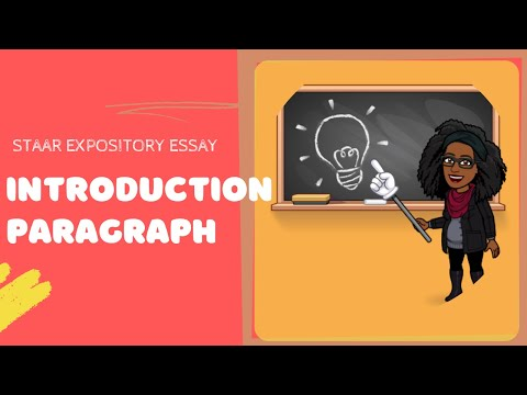 Writing an Expository Essay Introduction (STAAR Edition) - YouTube