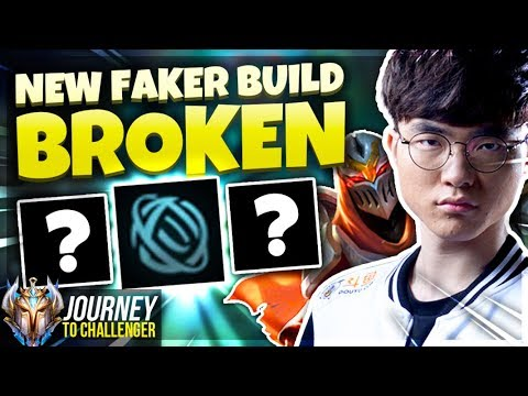 THIS NEW FAKER ZED BUILD IS FREELO - Journey To Challenger  LoL