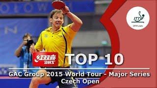 DHS ITTF Top 10 - 2015 Czech Open