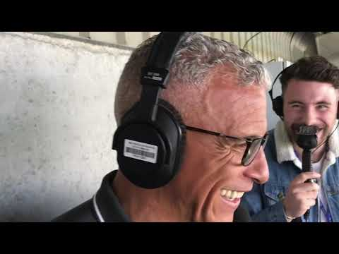 Keith Curle speaks to BBC Radio Northampton after the win over Newport County