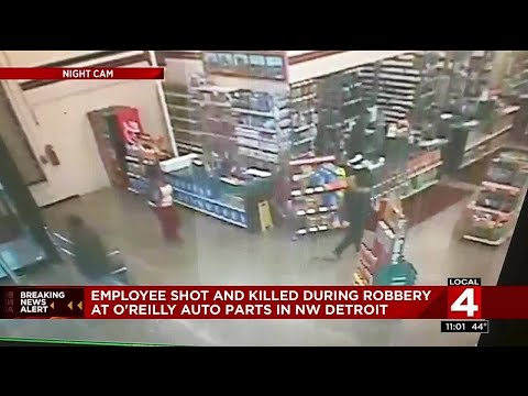 Employee Shot And Killed During Robbery At O'Reilly Auto Parts In NW Detroit