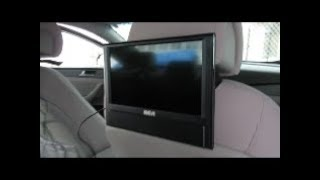 RCA Dual Tv screens with DVD player perfect for little ones