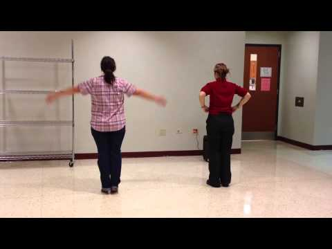 Thriller step-by-step dance moves