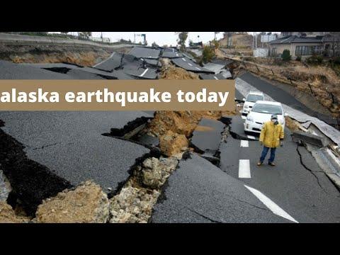 Alaska Earthquake Today