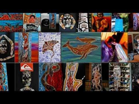 Australian Aboriginal artist Sean Kay