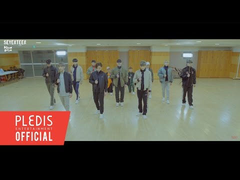 [Choreography Video] Seventeen '붐붐(BOOMBOOM)' Rearview Ver.