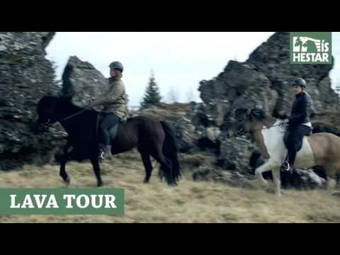 Iceland Horseback riding - Lava tour