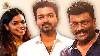 Vijay Surprises Parthiban Family | Keerthana Parthiban Wedding | Latest Tamil Cinema News