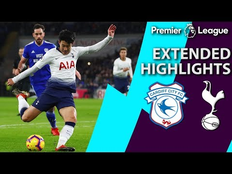 Cardiff City v. Tottenham | PREMIER LEAGUE EXTENDED HIGHLIGHTS | 1/1/19 | NBC Sports