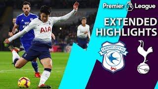 Cardiff City v. Tottenham | PREMIER LEAGUE EXTENDED HIGHLIGHTS | 1/1/19 | NBC Sports