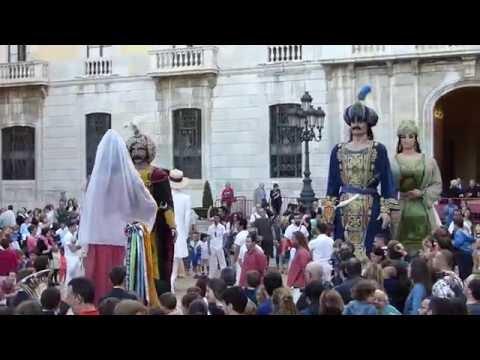 Ball dels gegants de Tarragona - Corpus 2016