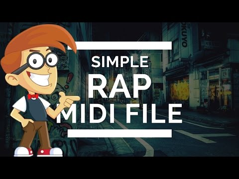 Simple Rap Instrumental (MIDI FILE)