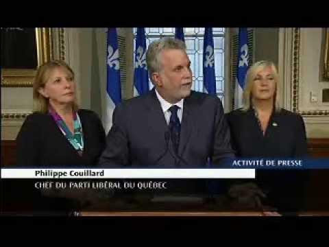 Point de presse de Philippe Couillard au sujet de la Charte des valeurs québécoises
