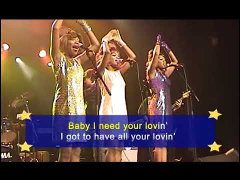 KARAOKE - BABY I NEED YOUR LOVIN RETRO (Practice Version)