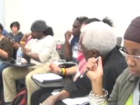 2011 Left Forum on the Black Liberation Movement and Youth