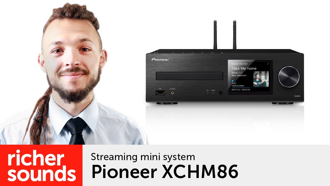 Pioneer XCHM86D - streaming mini system | Richer Sounds