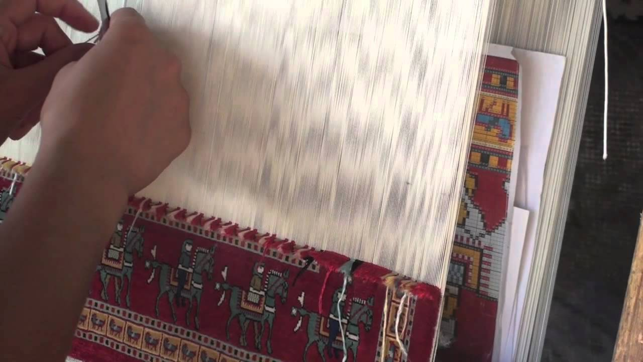 Turkish Traditional Carpet Making Youtube