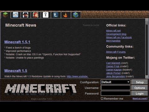 Обзор Minecraft Magic Launcher