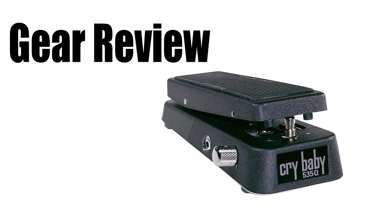 Dunlop 535q Multi Wah Pedal Review 18 Volt Version Youtube