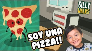 Soy una Pizza | Juego en la Cocina | Juegos para niños Silly Walks