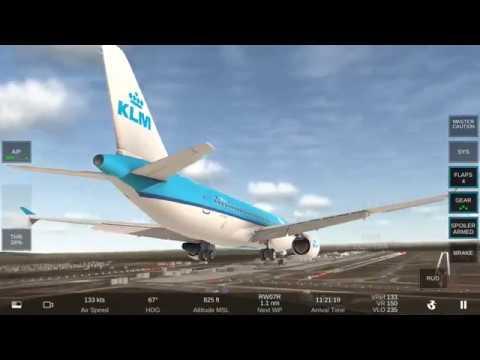 Testing Autopilot ILS Approach - Real Flight Simulator Airbus A320 - 200