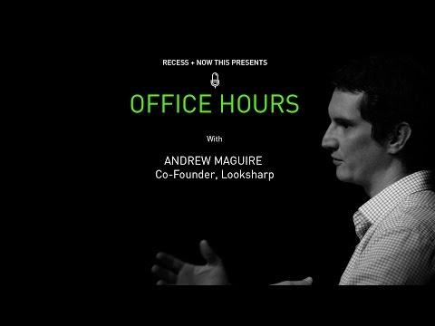 Office Hours: Andrew Maguire - Co-founder, Looksharp (Full-Length)