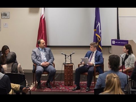 Discussion with Qatar's Minister of Foreign Affairs H.E. Dr. Khalid bin Mohammad Al Attiyah (Part 1)