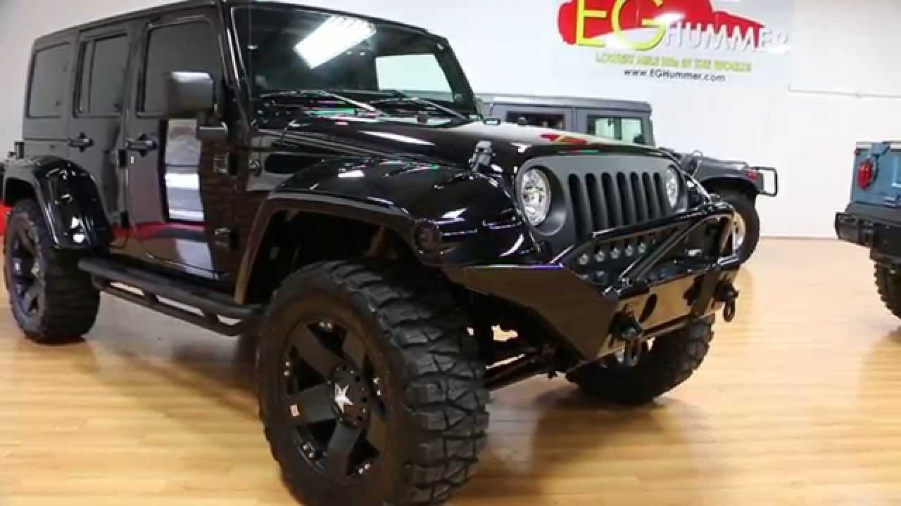 Review of Lifted 2013 Jeep Wrangler Unlimited Show Truck For Sale~Custom Sound~20
