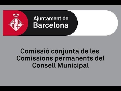 Comissió Conjunta de les comissions permanents del Consell Municipal 15/04/2019