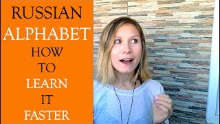 FAST and EASY way to Learn Russian Alphabet - Russian Language