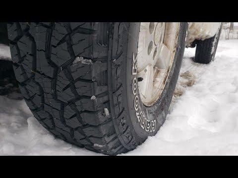 Hankook Dynapro ATM Tire Snow Test Review Dodge Durango