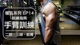 手臂肌肥大訓練計畫 My arms training routine 增肌系列 EP14