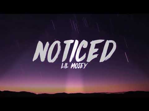 Noticed - Lil Mosey - Lyrics [ 1 Hour Loop - Sleep Song ]