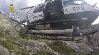 La Guardia Civil rescata a un senderista herido en el Torrent de Pareis