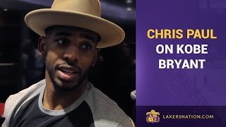 Chris Paul After Final Game Against Kobe Bryant