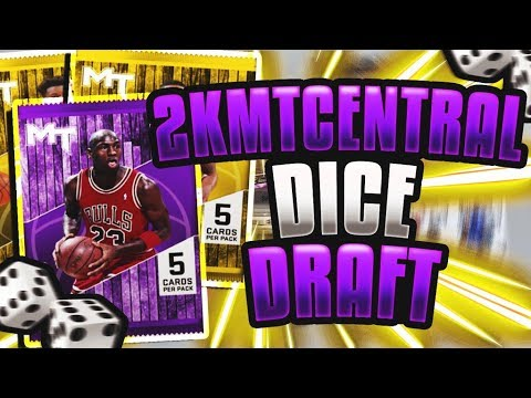 INSANE DICE 2KMTCENTRAL DRAFT😱 CAN WE GET A 95 DRAFT?