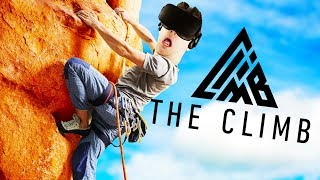 AMAZING VR ROCK CLIMBING! - The Climb Gameplay - VR Oculus Rift