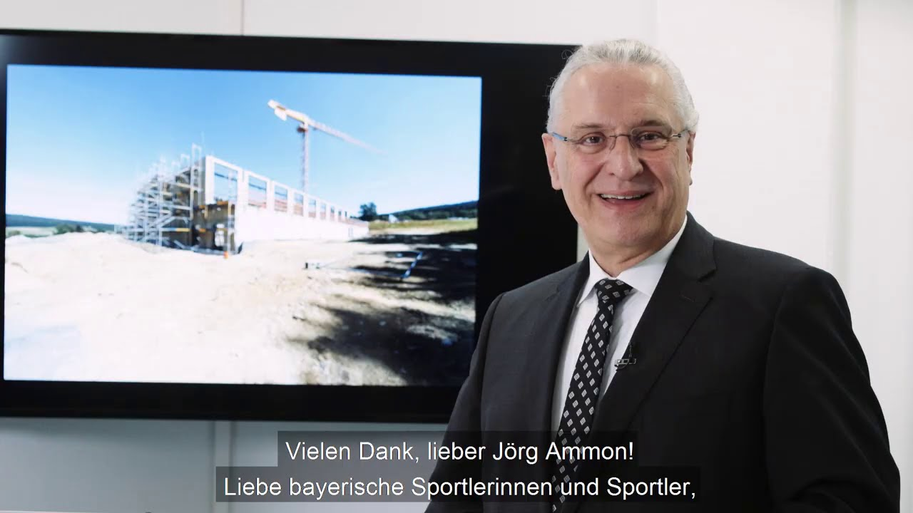 Startschuss für mehr Digitalisierung im Sportstättenbau - Bayern